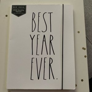 Rae Dunn BEST YEAR EVER Paperback 17 Month Planner